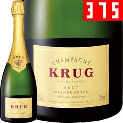 ワイン スパークリング シャンパン クリュッグ グランド・キュヴェ [ボックス付] [ハーフボトル] / クリュッグ フランス シャンパーニュ / 375ml / スパークリング