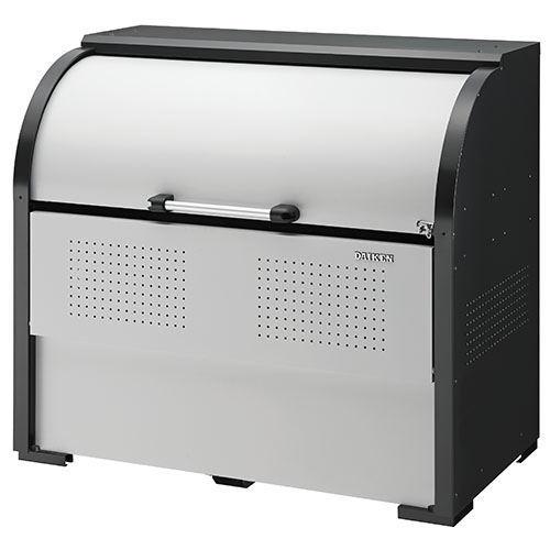 ダイケン ゴミ収集庫 クリーンストッカー CKR-2型 CKR-1307-2 幅1300mm×奥行き750mm×高さ1160mm ※お客様組立品