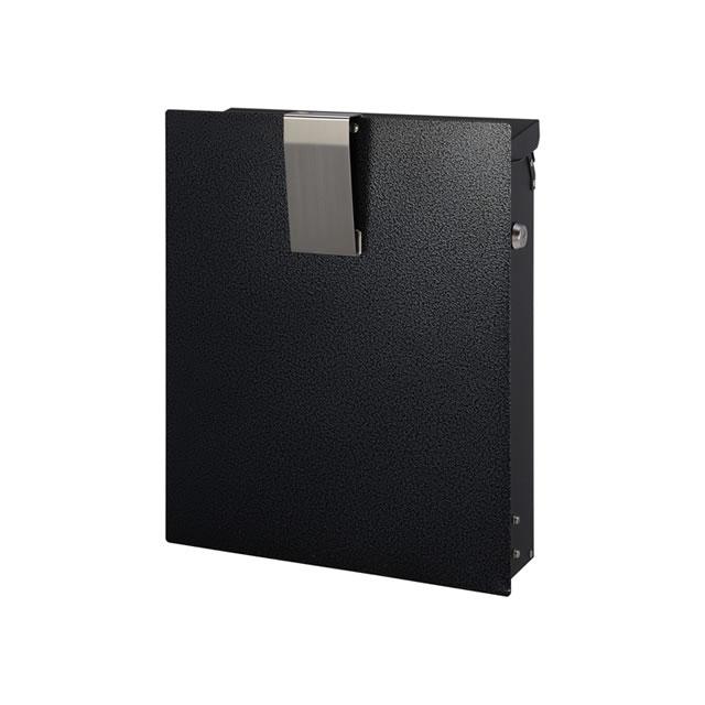 オンリーワン 郵便ポスト Noie Fine ノイエファイン ハンマートーン GM1-NF602 メタリックブラック色