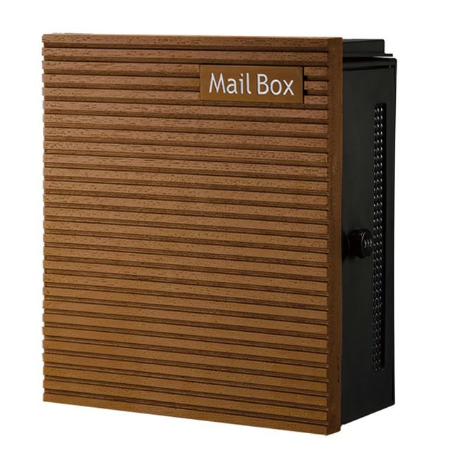 オンリーワン 郵便ポスト クーリエ コンベックスウッド MY1-1838 ライト色 右扉仕様