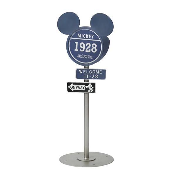 セトクラフト Disney Vintage Mickey 標識ソーラーライト(ヴィンテージミッキー) SD-6144-2000