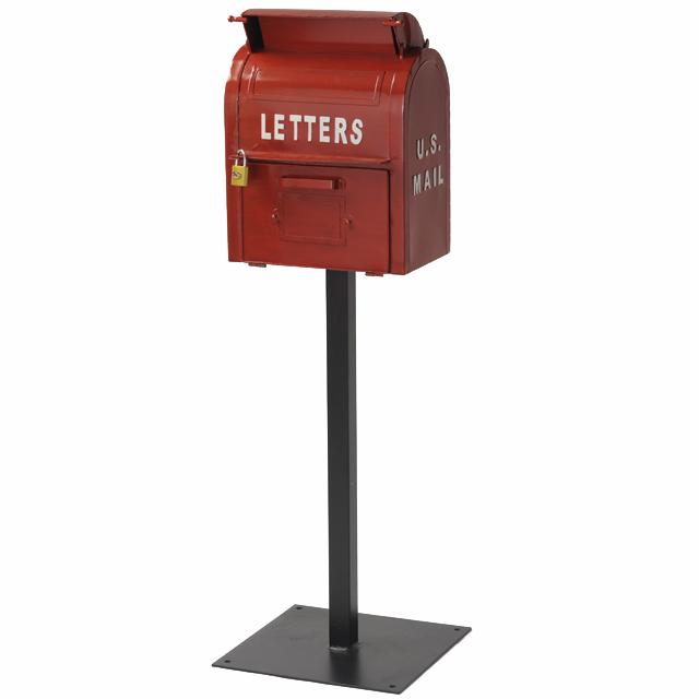 セトクラフト American Vintage U.S.MAIL BOX レッド SI-2855-RD-3000