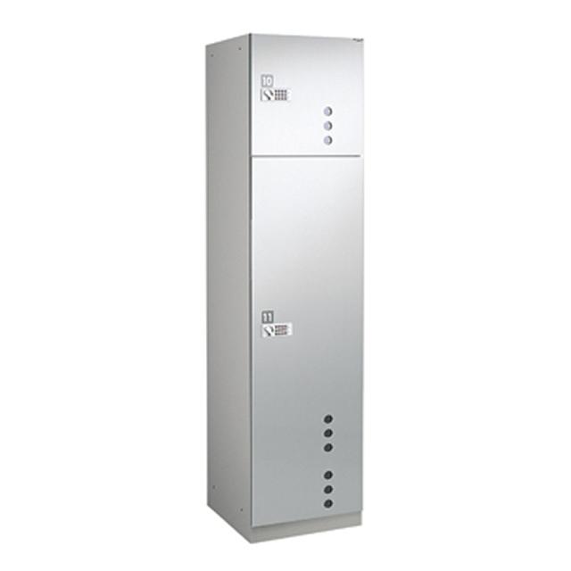 ダイケン 宅配ボックスBB4型 プッシュボタン錠タイプ(可変式) ステンレス貼扉 TBX-BB4L Lユニット