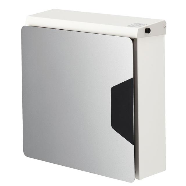 オンリーワン 郵便ポスト マルカート アヴィオン TC1-AV3SV パネル/シルバー色×ボックス/ホワイト色