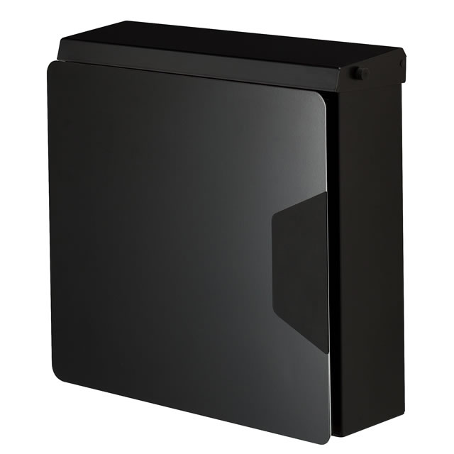 オンリーワン 郵便ポスト マルカート アヴィオン TC1-AV4BK パネル/ブラック色×ボックス/ブラック色