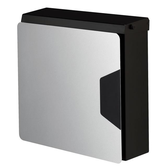 オンリーワン 郵便ポスト マルカート アヴィオン TC1-AV4SV パネル/シルバー色×ボックス/ブラック色