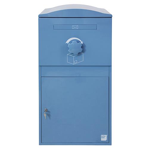 英国発のオシャレな戸建用宅配ボックス brizebox(ブライズボックス) EXラージサイズ ブルー