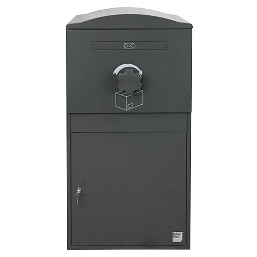 英国発のオシャレな戸建用宅配ボックス brizebox(ブライズボックス) EXラージサイズ グレー
