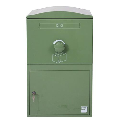 英国発のオシャレな戸建用宅配ボックス brizebox(ブライズボックス) ラージサイズ グリーン