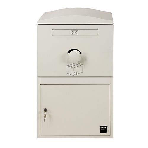 英国発のオシャレな戸建用宅配ボックス brizebox(ブライズボックス) ラージサイズ アイボリー