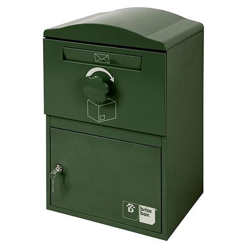 【4月下旬頃入荷予定】英国発のオシャレな戸建用宅配ボックス brizebox(ブライズボックス) スタンダードサイズ ダークグリーン