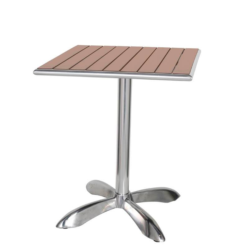 ダルトン DULTON アルミニウム カフェテーブル スクエア ALUMINUM CAFE TABLE SQ LBR H845-1024LBR newitem