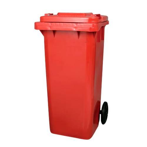 ダルトン DULTON プラスチック トラッシュカン 120リットル PLASTIC TRASH CAN 120L RED PT120RD newitem