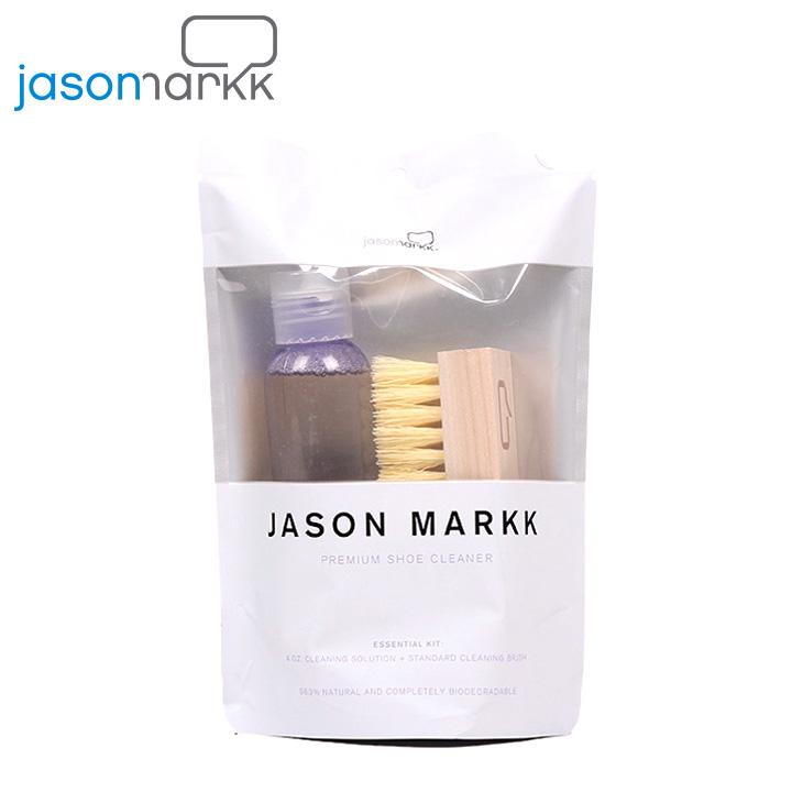 スニーカーケアならまずこちらのセットがオススメ マーケティング # シューケア シュークリーナー ブラシ JASON MARKK ジェイソンマーク スニーカークリーナー JM-3691 JM-0400 KIT あす楽 シューケアキット 驚きの値段で エッセンシャルキット ESSENTIAL 汚れ落とし