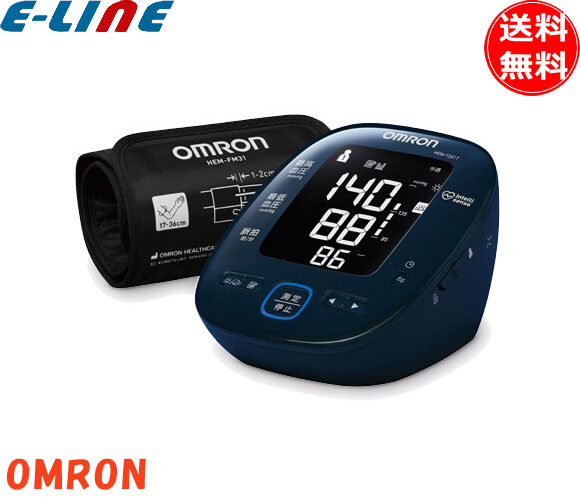 OMRON 上腕式血圧計 HEM-7281T バックライト付き bluetooth HEM7281T「送料無料」「smtb-F」