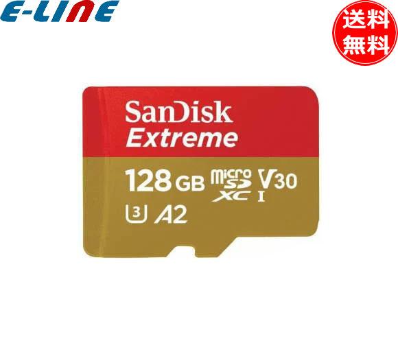 サンディスク SDSQXAF-0128G-JN3MD microSD エクストリーム 128GB SDSQXAF0128GJN3MD 「送料無料」