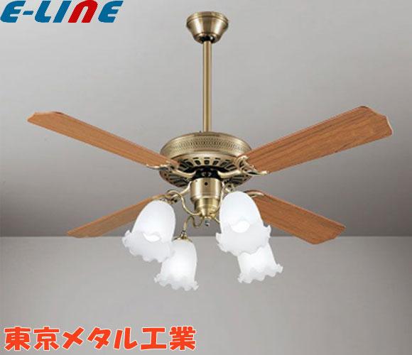ODELIC オーデリック WF682P1+WF583+WF687PC LEDシーリングファンライト ~10畳 伝統のクラシカルスタイル[真鍮ブロンズ] パイプ吊長:300 調色・調光 4枚羽根タイプはサイズ、風量共に大きく広い空間に最適です。「setsuden_led」「送料1500円」