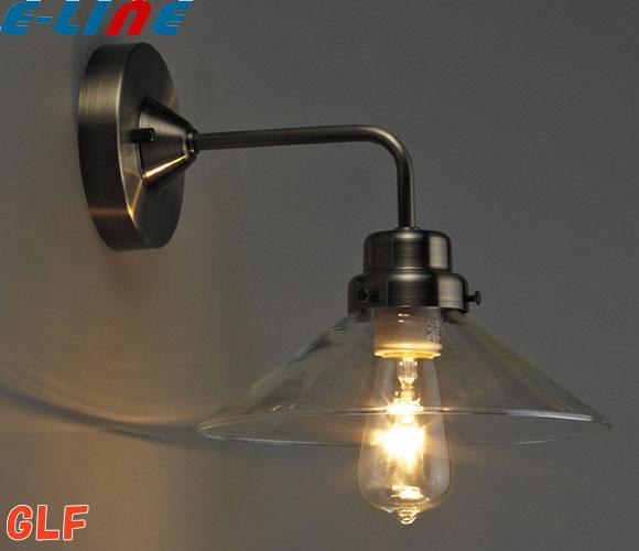 後藤照明 GLF-3378X ブラケットライト 壁照明 透明P1硝子セード バルゴ・BK型 電球なし(オプションで電球追加可能)「GLF3378X」「送料区分B」