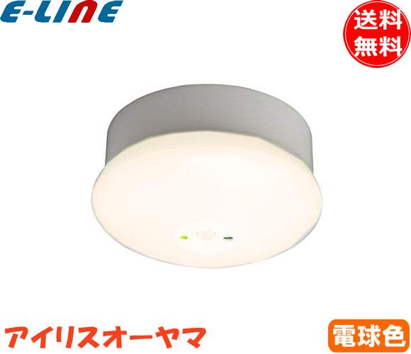 アイリスオーヤマ SCL4L-MS-P 人感センサー付LED小型シーリングライト 角型 電球色 400lm LED一体型「SCL4LMSP」「setsuden_led」「smtb-F」「送料無料」