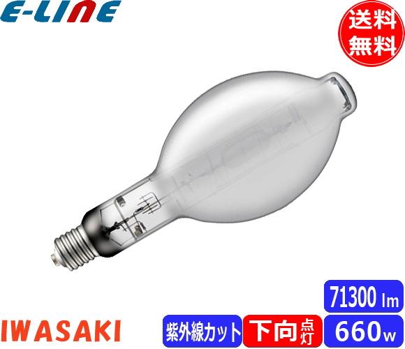 岩崎 M660FCELSP2-W/BU FECセラルクスエース PRO2 拡散形 寿命20,000時間 紫外線90%カット 低誘虫仕様 白色(4100K) 水銀灯一般形・低始動電流形安定器で点灯可能 「送料区分B」