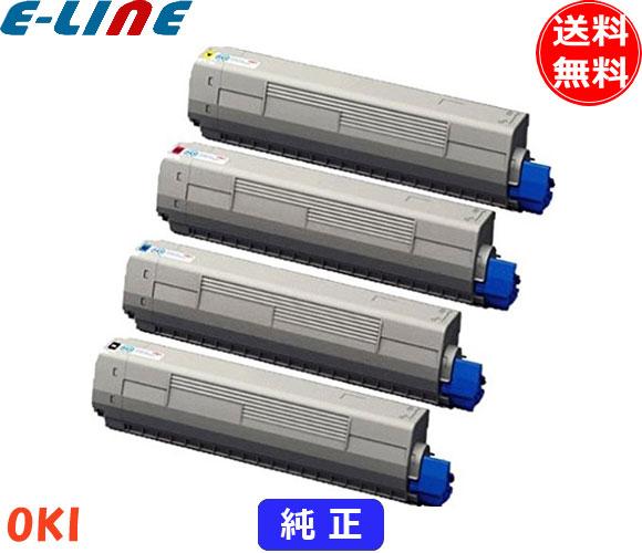 オキ TNR-C3L2 トナーカートリッジ 4色セット(純正)TNRC3L2-4「送料無料」「smtb-F」