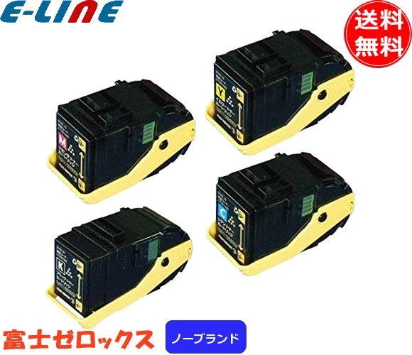FUJI XEROX 富士ゼロックス DocuPrint C3350/DocuPrint C3350s(CT201398-401) 4色セット ノーブランド・汎用品(OEM) 「送料無料」「smtb-F」(CT201398-401N)