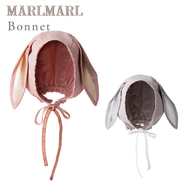 マールマール ボンネ型赤ちゃん用帽子