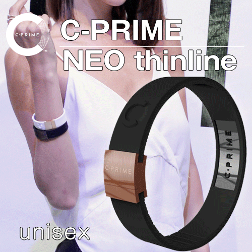 【海外販売用ページ】 C-PRIME NEO thinline ★ Free shipping ★ 0328 [ black / black / bronze ] Power band Wristband , Baseball Marathon Football Golf , made of Silicon , Tokyo Olympic 2020 [ C-PRIME Authorized dealer ]