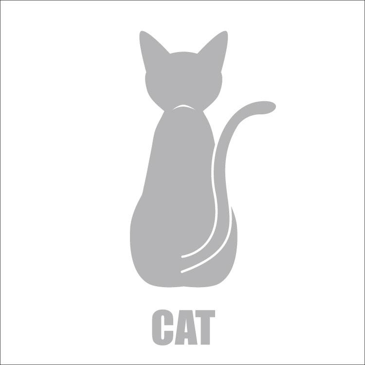 敬老の日 2021 送料無料 車 シール ステッカー 13cm 後ろ向きシルバーシルエット 転写 名入れ (人気激安) 猫グッズ 対象外 ペット AL完売しました