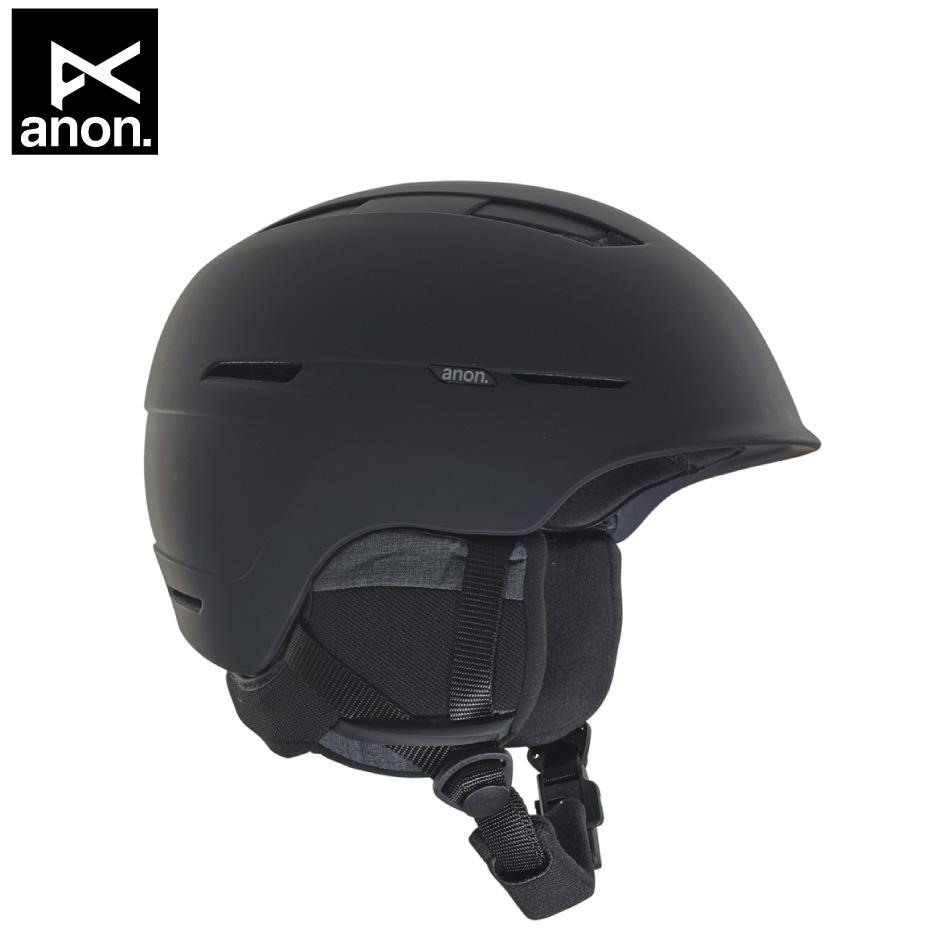 即納OK 20 ANON Helmet Invert MIPS Black アノン ライム つば付 アジアンフィット 19-20 20Snow 正規品