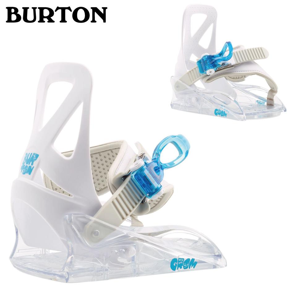 20 BURTON GROM Binding (K・Y) White バートン グロームバインディング 4点留め 20Snow 19-20 正規品