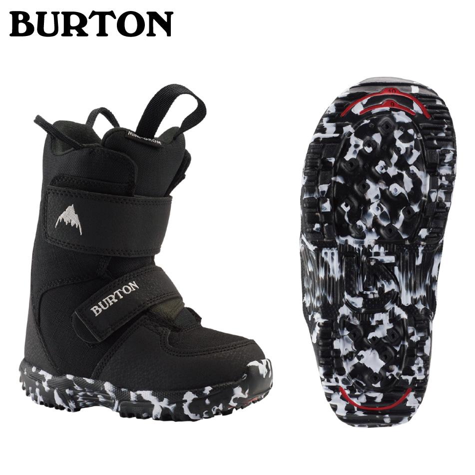 即納OK 20 BURTON MINIGROM Boots (K・Y) Black バートン ミニグロームブーツ メッシュバック付 20Snow 19-20 正規品