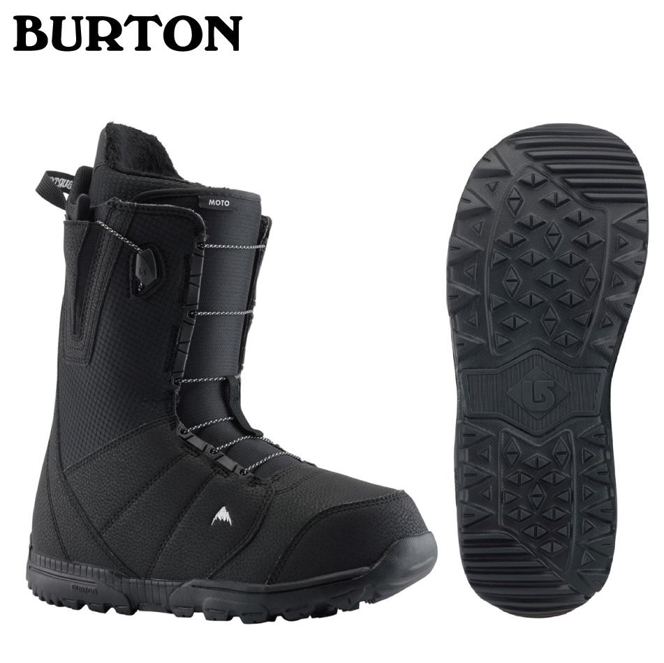 即納OK 20 BURTON MOTO Boots Black ブーツ バートン モト ブーツ アジアンフィット メッシュバック付 正規品