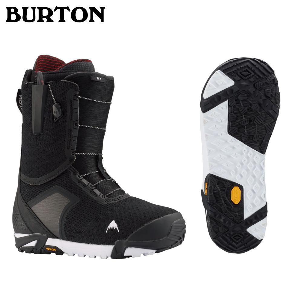 即納OK 20 BURTON SLX Boots Black ブーツ バートン エスエルエックス ブーツ メッシュバック付 正規品