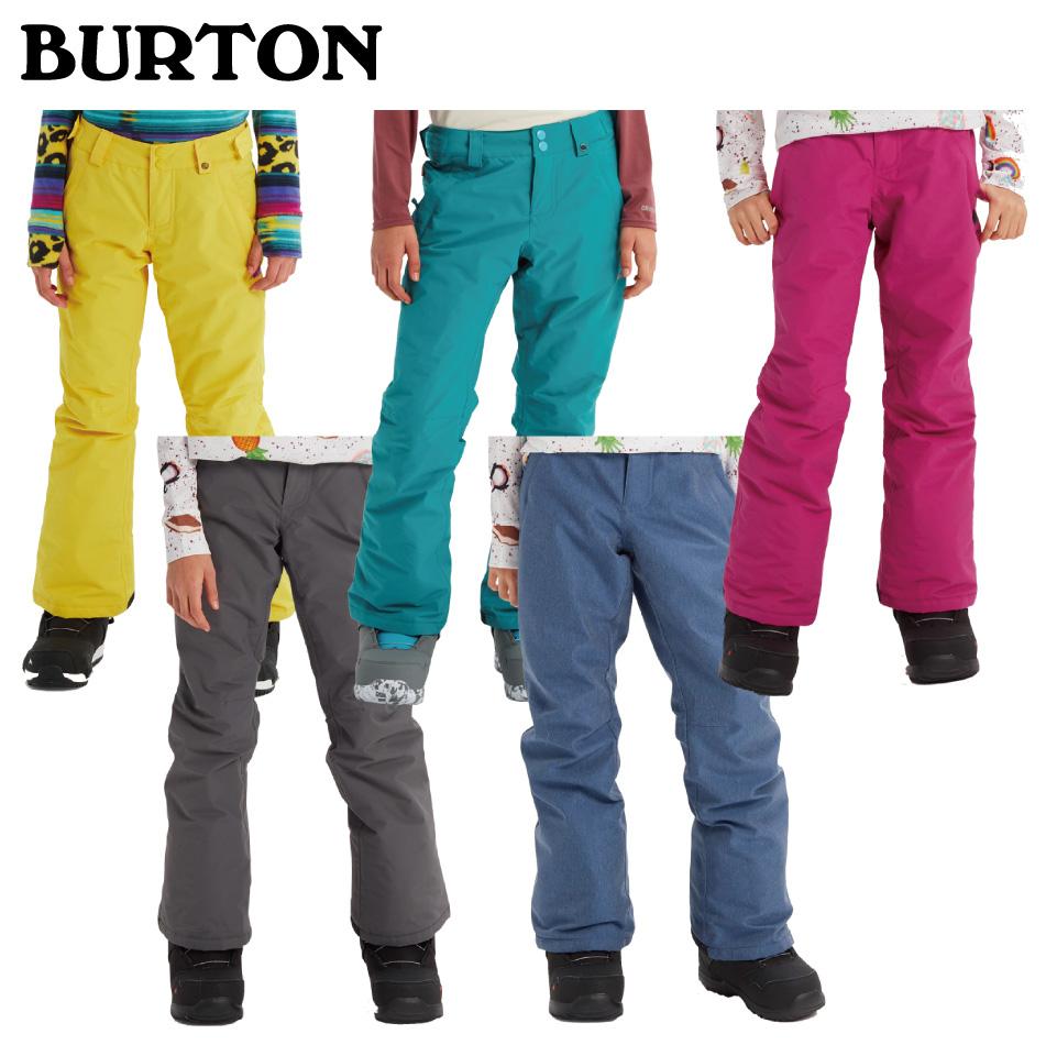 20 BURTON Girls SWEETART Pant バートン キッズ スィートアート パンツ 20Snow 19-20 キッズ ユース 正規品