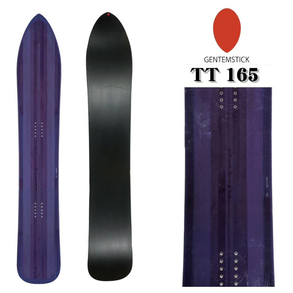 保護フィルム付き! 20-21 GENTEMSTICK T.T 165 CLASSIC ゲンテンスティック ティーティー 165cm クラシック フラットキャンバー 国産 TT メンズ パウダーボード スノーボード 板 genten gemten gemtem 送料無料 2041002