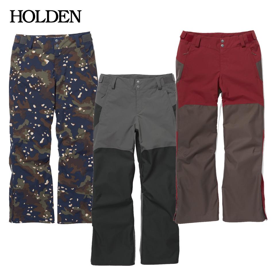 20 HOLDEN COLE Pant ホールデン コール パンツ 20Snow 19-20 正規品