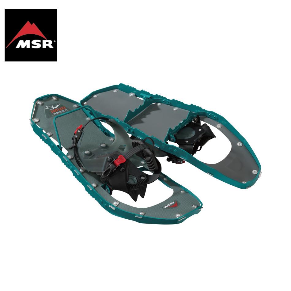 MSR Lightning Explore ティール 女性用 22inc&25inc エムエスアール ライトニング エクスプローラー スノーシュー