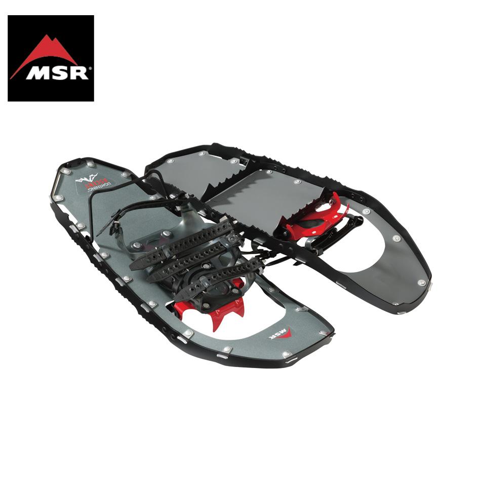 MSR Lightning Ascent ブラック 男性用 22inc&25inc&30inc エムエスアール ライトニングアッセント スノーシュー