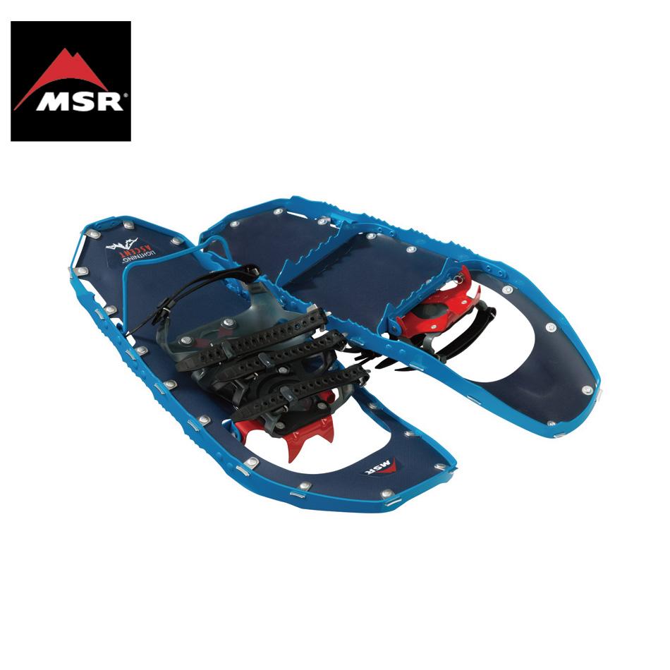 MSR Lightning Ascent コバルトブルー 男性用 22inc&25inc&30inc エムエスアール ライトニングアッセント スノーシュー