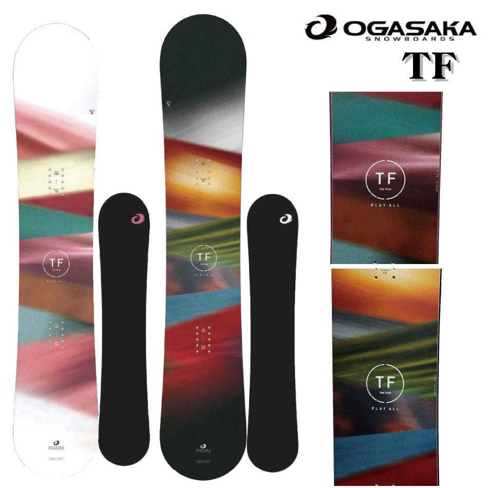 20-21 OGASAKA オガサカ TF ティーエフ 143 146 148 152 154 156 メンズ レディース カービング 板 国産 スノーボード スノボー スノボ 送料無料