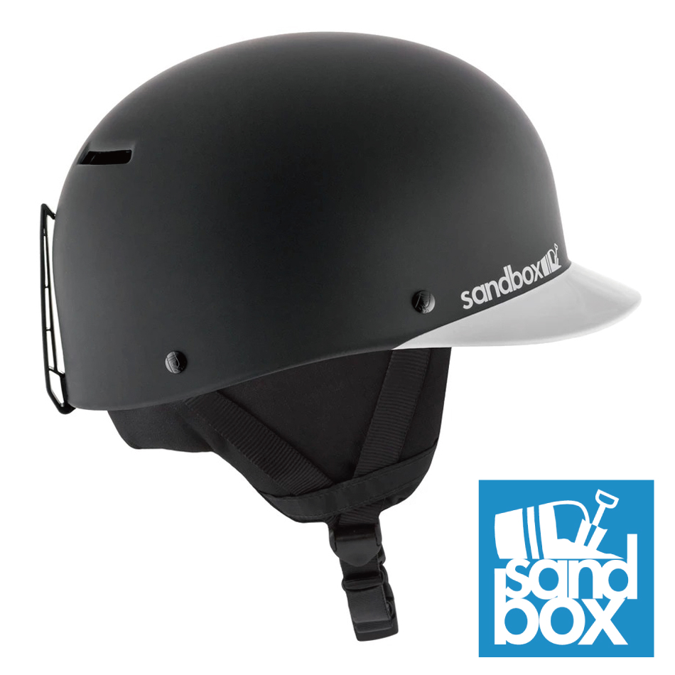20 SANDBOX Helmet Classic 2.0 SNOW BlackTeam(Matte/Gloss) サンドボックス クラシック2.0 19-20 20Snow 正規品