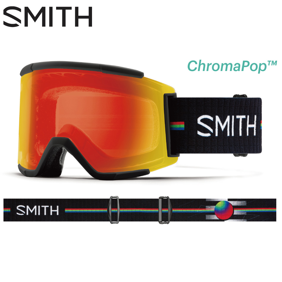 20 SMITH Goggle Squad XL AC LouifParadis CP.Photochromic RedMirror 調光 スミス スクアッド スペアレンズ付 20Snow 正規品