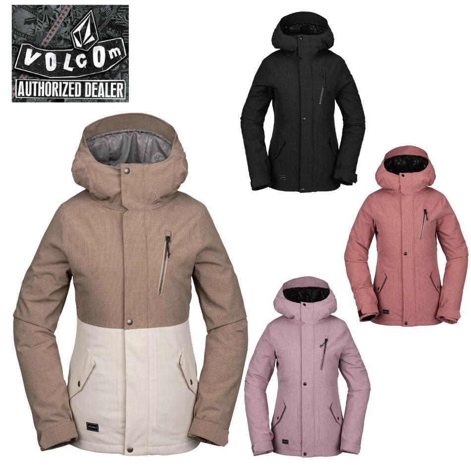 20 VOLCOM ASHLAR Jacket (W) ボルコム アシュラル ジャケット 20Snow 19-20 予約商品 正規品
