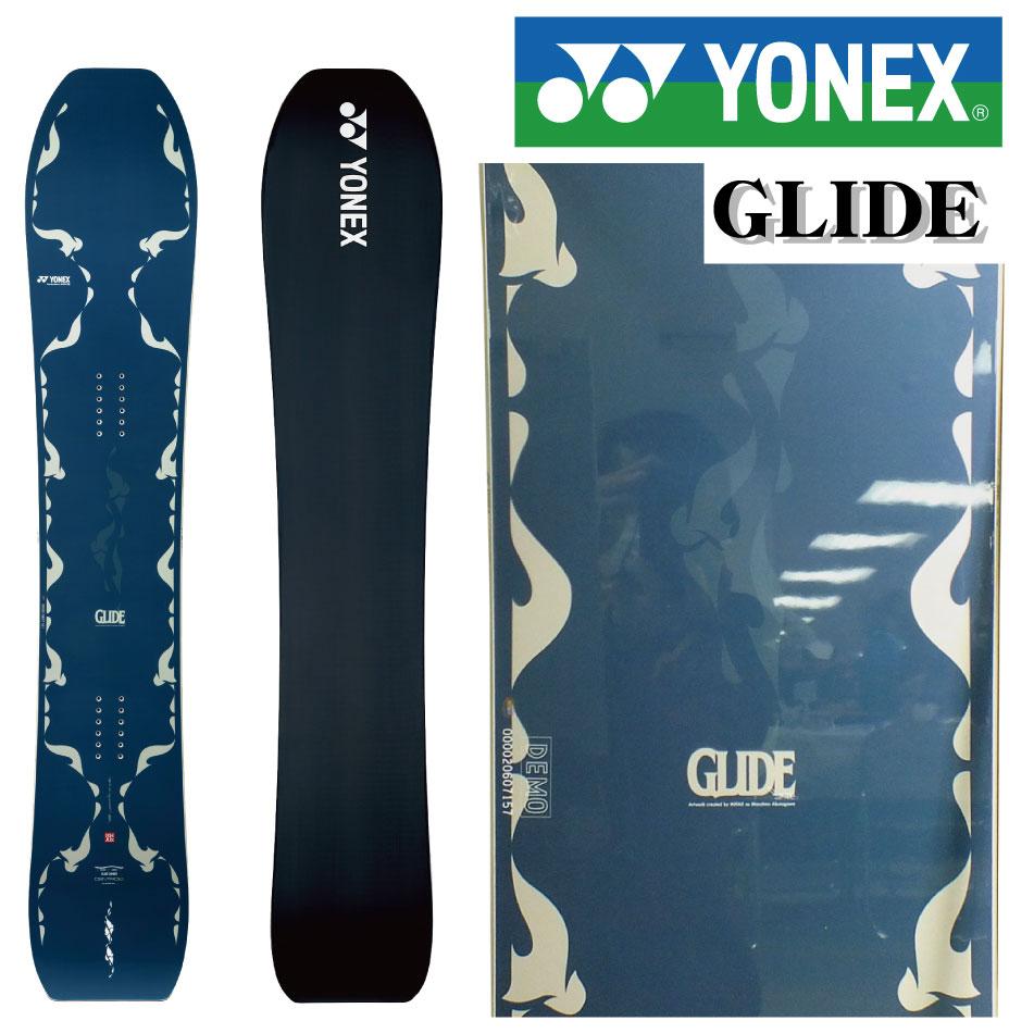 20-21 YONEX ヨネックス GLIDE グライド 157 161 国産 メンズ 板 スノーボード スノボー スノボ 送料無料