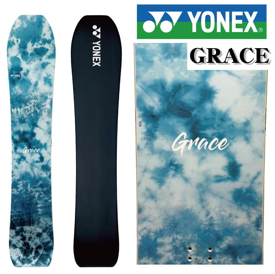 20-21 YONEX ヨネックス GRACE グレース 147 151 グレイス パウダー カービング レディース 板 国産 スノーボード スノボー スノボ 送料無料