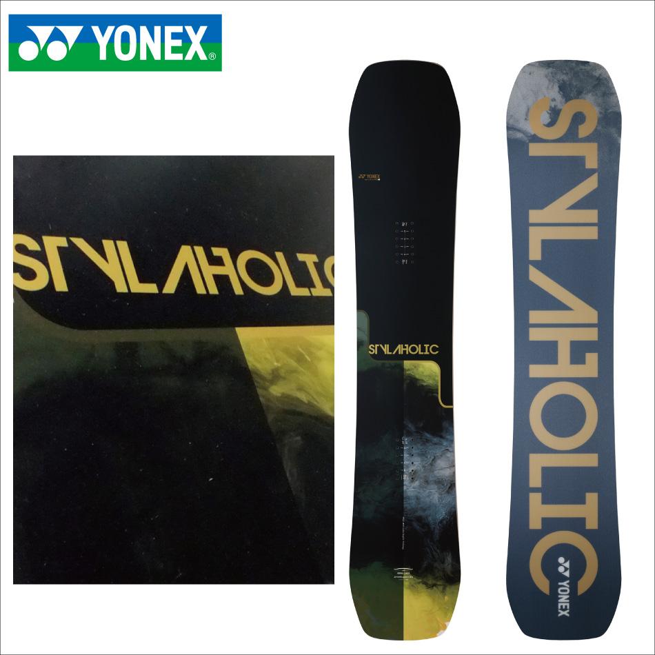 選べる特典付 20 YONEX STYLAHOLIC ブラック/ゴーグル SH19 ヨネックス スタイラホリック パーク キャンバー 20Snow 19-20 正規品