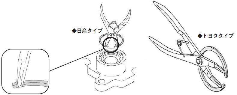 HASCO (Ascot) snap ring pliers HSP-601T-N