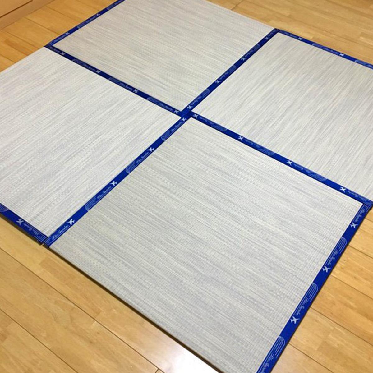 【ふるさと納税】オリジナル置き畳「ブルーインパルス」