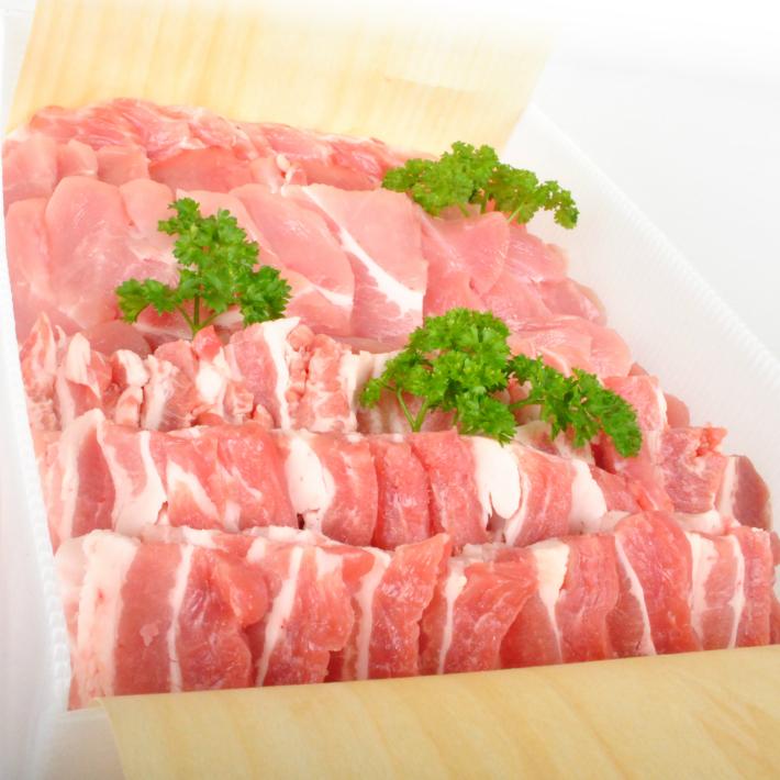 【ふるさと納税】庄内豚 焼肉セット ロース バラ モモ 各500g 計1,500g 冷凍便 ※着日時指定・離島発送不可